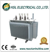 3 phase oil immersed power transformer with price 500kva 630kva 1000kva