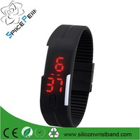 sports bracelet LED watch multi candy color silicone rubber digital watches waterproof wristwatch montre LED reloj LED