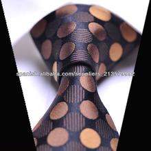Corbatas Jacquard de seda de los hombres