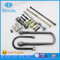 ALL OEM items customized stainless steel titanium u bolts and nuts screws