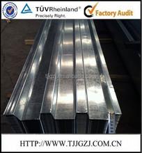 Metal decking roof sheet 0.6-1.2mm YX75-200-600 decking sheet/Galvanzied deck plate sheet/galvanized deck sheets