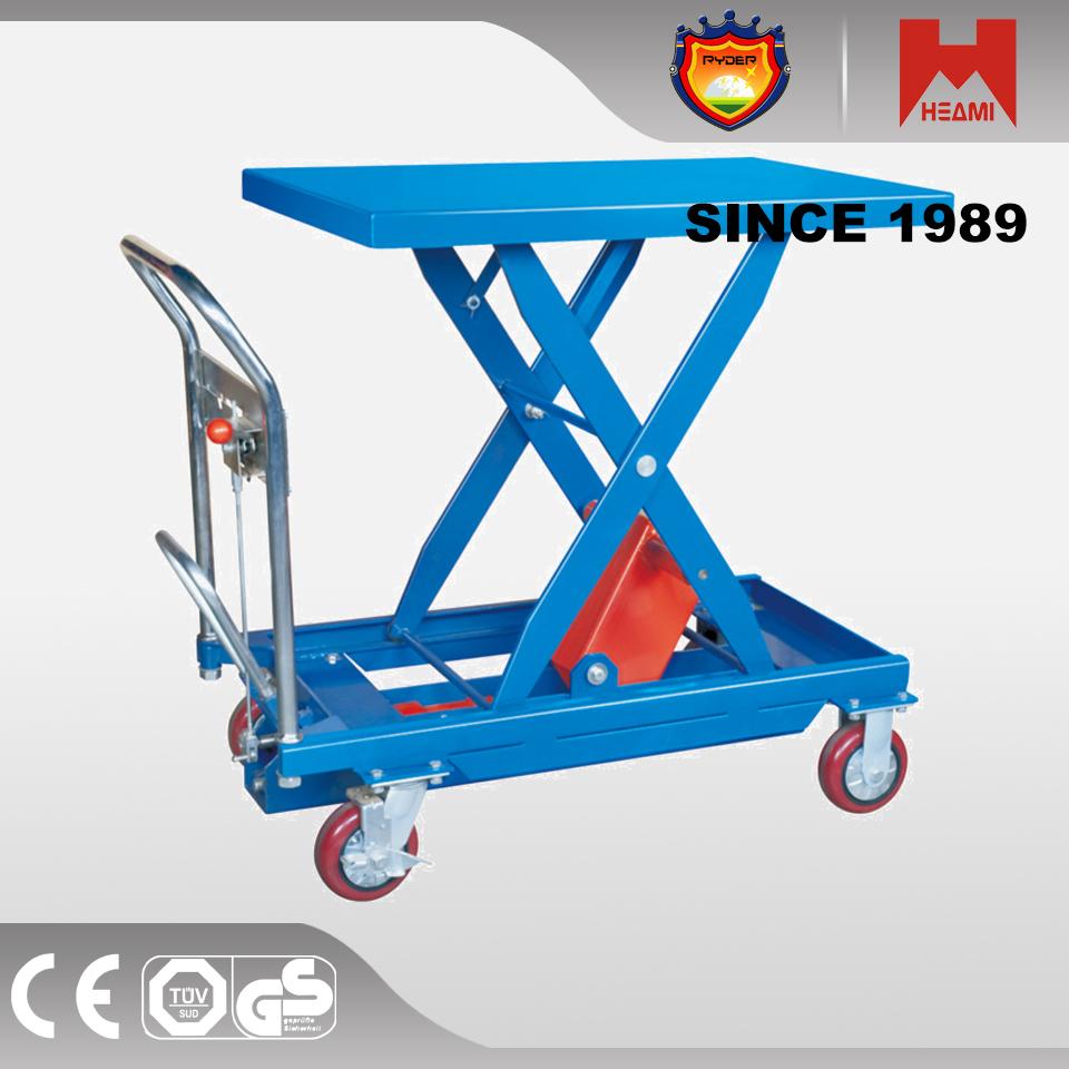 150 Kg Mini L Ment Pliage Poign E Manuel Hydraulique Table L Vatrice Ciseaux Tables
