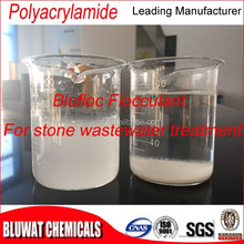 Blufloc India Marble Water Treatment Flocculant Polyacrylamide Polymer