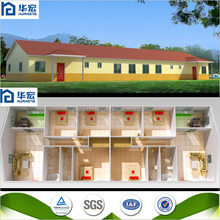 Seismic resistance fast assembling low cost prefabricated house plans
