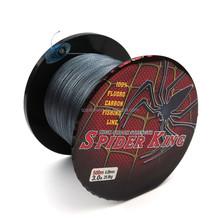 Super strong 500M fishing braided line SPIDER KING brand Braided 4 strand braided fishin 3 colors mian line spectra braided line
