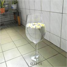 giant tall wine glass vases