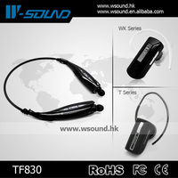 Export mobile phone accessory wholesale wireless stereo bluetooth handy talkie headset