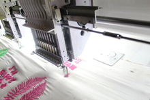flocking/tufting embroidery machine price Pakistan 1204 commercial computer high speed hot sale