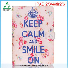 Leopard Bowknot Print PU Leather Folio Case Cover For iPad Mini 2/3/4 5 6 Air 2