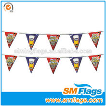 The most popular factory directly print promotional bunting flag