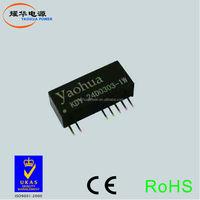220v to 3.3v 5v 9v 12v 24vac dc converter,2.5w single output ac dc power converter