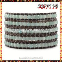 wholesale murano glass stretch bracelet crystal vase made in China
