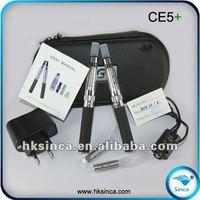 Fast selling e cig wholesale china Sinca brand ce5+ green smoke accept paypal