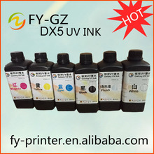 Made in China eco solvent white ink for dx5 printer, color inks,white inks