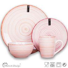 atacado cerâmica prato de comida