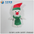 Dedo de la felpa ( muñeco de nieve ), personalizado juguetes, CE / ASTM seguridad stardard