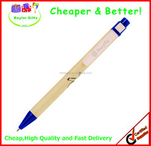 Promotional paper barrel paper eco pen