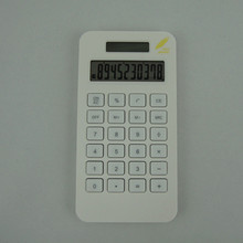 High quality corn plastic calculator with 10 digits made in China