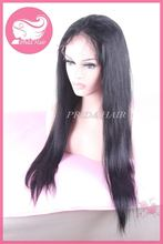 Alibaba china manufacture silky straight lace front wigs
