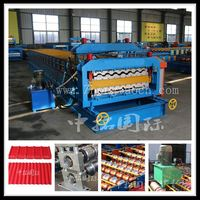 double layer roof making machine double metal roofing machines for sale