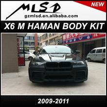 body kits for 2008-2014 X6 wide body HMV body kit x6 HMV body kit