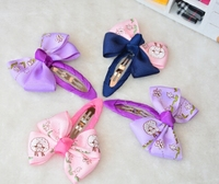 Child hair pin hairclips baby girl cuts bow headwear hair accessories in stock 2015
