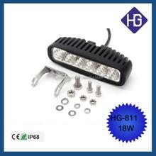 HOT!! Truck led working light crees led work light 4x4 18w led work lamp for SUV ATV AUTO car led fog light