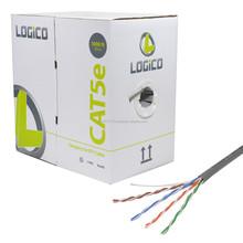 Cat5e UTP Cable 1000FT Gray