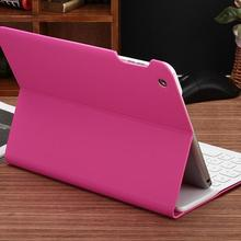 Bluetooth keyboard stand folio leather case for ipad air