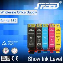 Ink visible arc chip for hp 364 with German ink