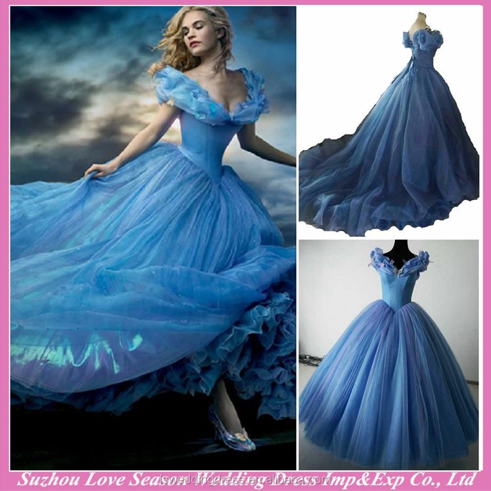 Rw0001 Foto Reali Cinderella Abito Fantasia Con Farfalla