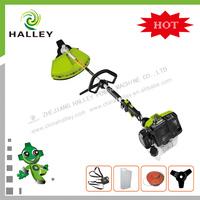 New design HLBC300-A 2 stroke gasoline 30CC grass cutter with half crankshaft