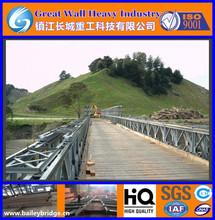 Fast Delivery Bailey Bridge, Prefabricated Bridges, cost effective small steel bridge