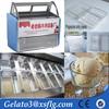 Supermarket market popsicle gelato batch freezer for sale