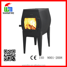 2015 popular small cast iron wood burning stove for sale