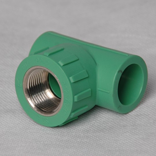 Green ppr pipe fittings male thread elbow high quality