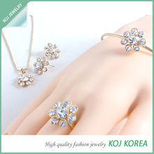 Fashionable jewelry, 2014 Hot Design Fashion Jewelry Set, Fashion accessory, made in Korea, Fashion Jewelry
