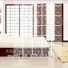 Ideas decorativo particiones pantallas para cama