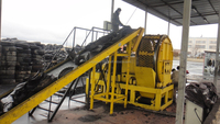 Scrap Rubber car Tires Recycling Machines Designed with American Technologies