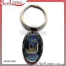 shape metal jaguar keychain for custom