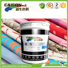 High quality pigment colors for screen printing