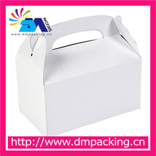 birthday party or wedding party white treat boxes