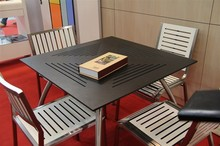 HPL Outdoor desk-chair waterproof Can according to your size Compact Laminate Table Top