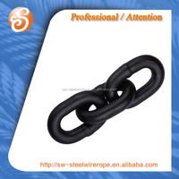 Welded G80 Iron Link Chain Or Anchor Chain STEEL CHAIN
