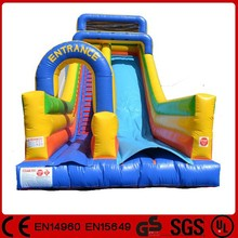 Superior quality outdoor toys cheap inflatable slides for water park