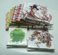 printed tissue serviette folding table paper napkin