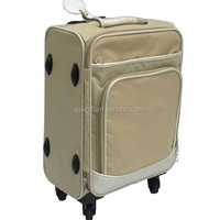 Professional clear air luggage case with wheels