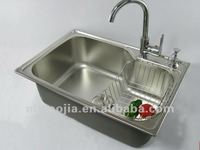 High Quality Modern Design Stainless Steel With a Drain Tank Kitchen Sink