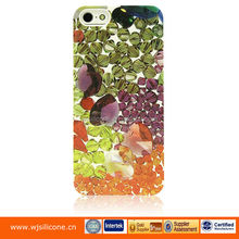 Hard water transfer case with UV oil coating high quality full color print case for iphone