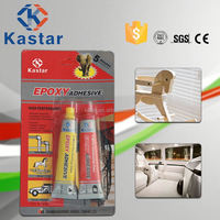 Industrial ISO9001 approved fast dry epoxy ab adhesive for Plastic